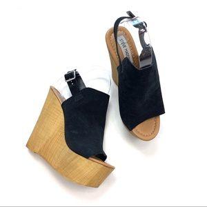 Steve Madden Brandey Platform Wedge Sandals